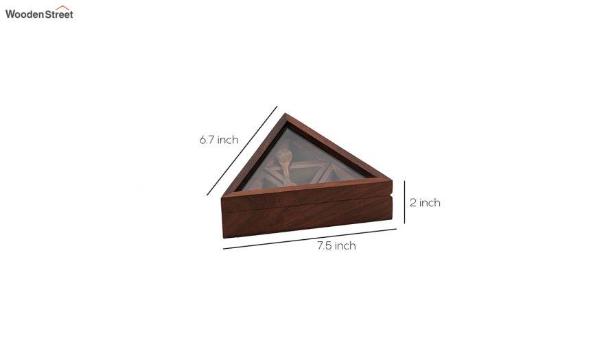 Wooden Spice Box, Masala Dabba