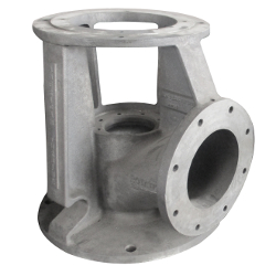 Grey Iron Pump Discharge Head Casting