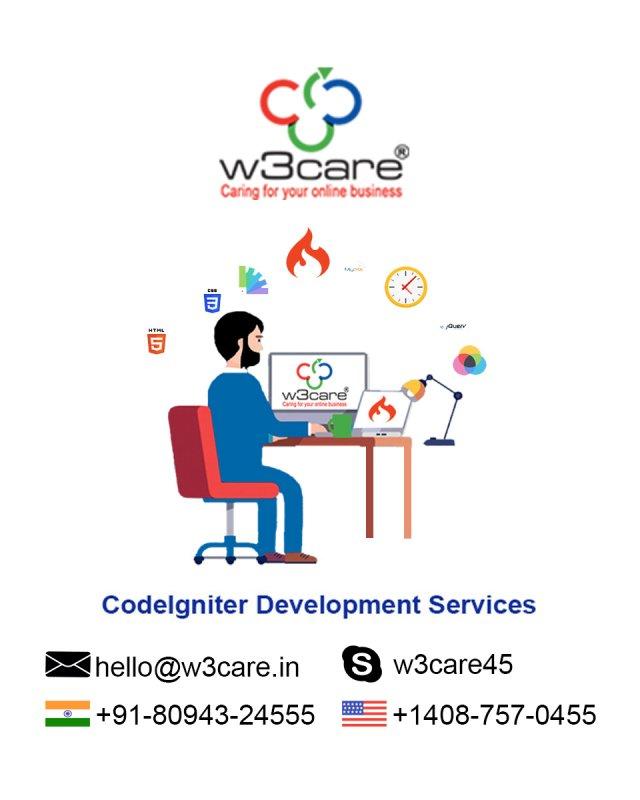 W3care CodeIgniter Web Development Services USA
