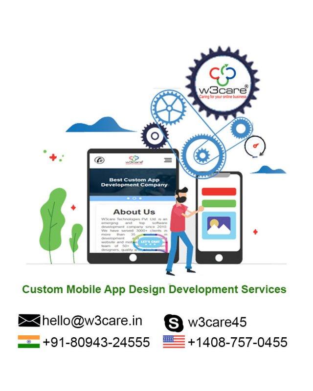 W3care Mobile App Design Development Agency USA