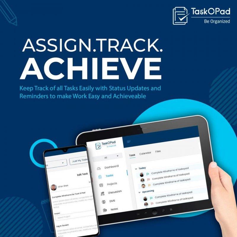 assign track achieve