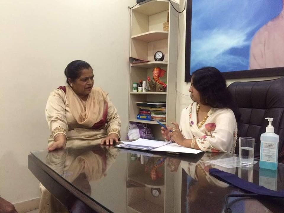 Consultation at Dr Sharda