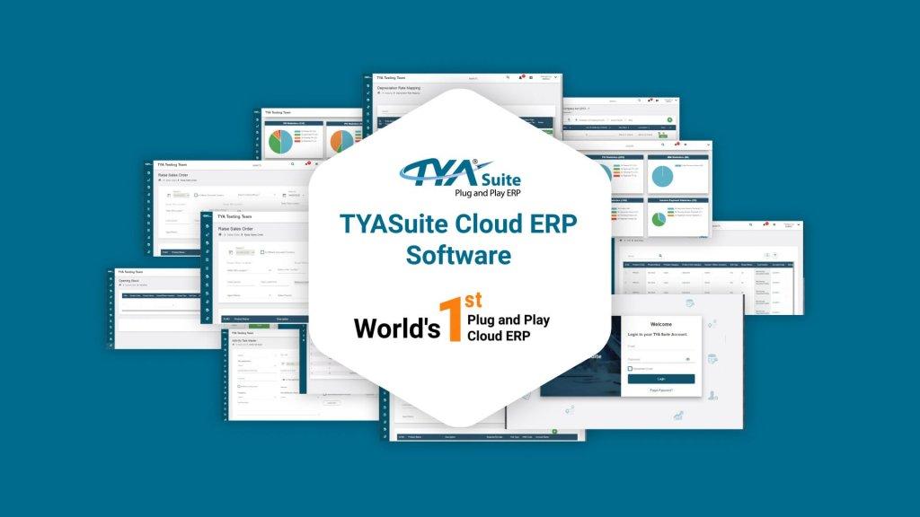 TYASuite cloud ERP software