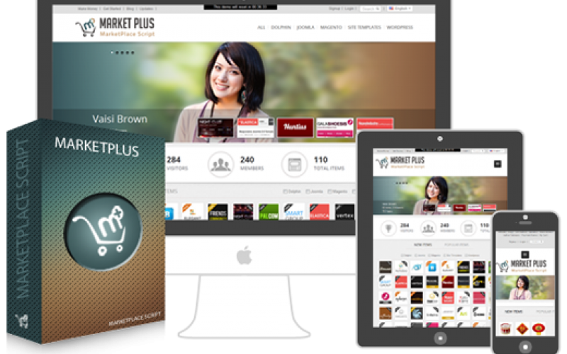 Themeforest clone image created by BrickSteel Enterprises InfoTech Private Limited