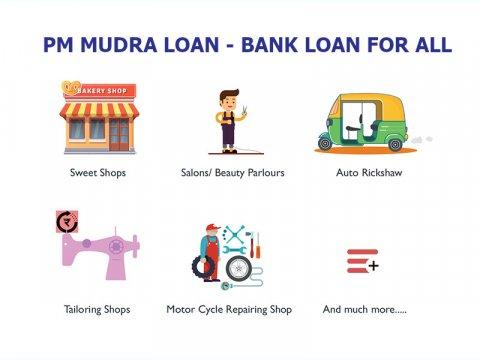 PM MUDRA Bank Loan - Bank Loan for all