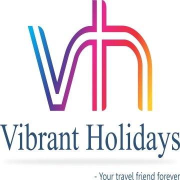 Vibrant Holidays logo