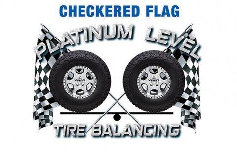 Checkered Flag Tire Beads - logo