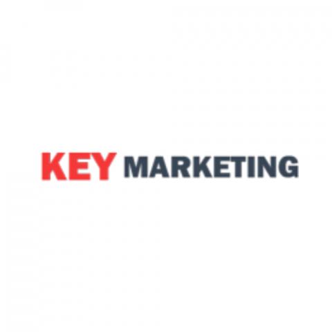key marketing logo
