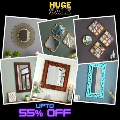 wall mirror frame design online