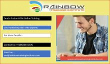 Oracle Fusion hcm Online Training