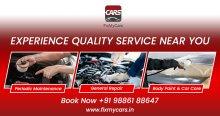 Car Service at your doorstep.