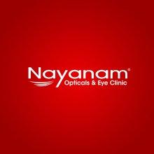 Nayanam Opticals Kannur Logo