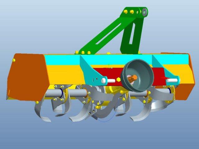 KAMCO Tractor TeraTrac2 Rotovator