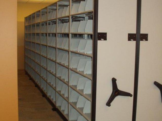 Storage racks by Storage Equipment Company Inc